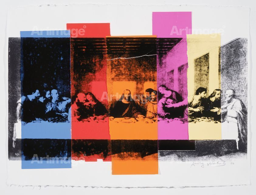 Enlarged version of The Last Supper, 1986