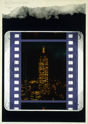Clip-O-Matic: Empire State Building, 1967 By Joe Tilson