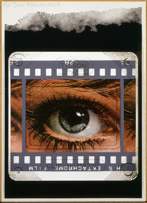 Clip-O-Matic: Eye, 1969 By Joe Tilson