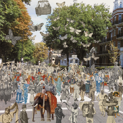 London: Abbey Road - Parade, 2012 By Peter Blake