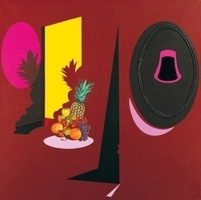Fruit Display, 1996 By Patrick Caulfield