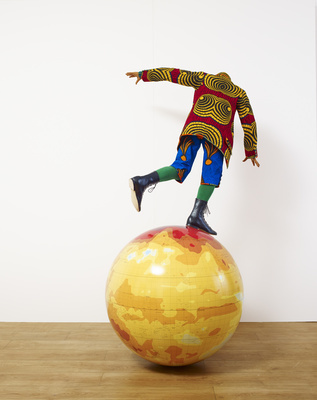 Boy on Globe, 2014 By Yinka Shonibare MBE