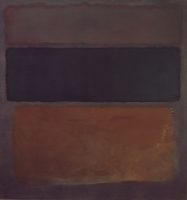 No. 10, Brown, Black, Sienna on Dark Wine, 1963