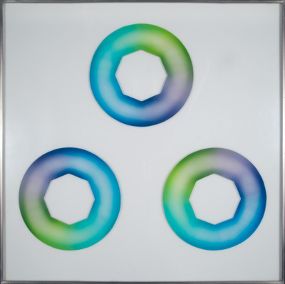 Green-Blue Starcunts, 1969 By Judy Chicago