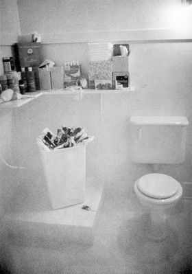 Menstruation Bathroom from Womanhouse, 1972