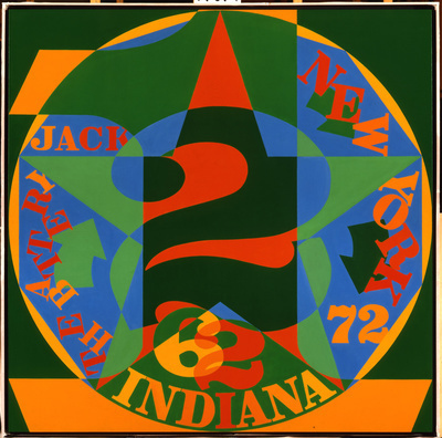 By Robert Indiana