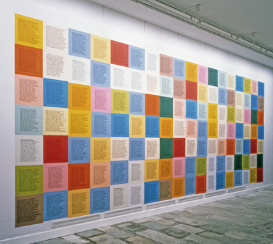 from Inflammatory Essays, 1979-82 (Installation view, 'Time ...