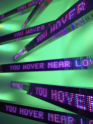 New Corner, 2011 (detail). (Installation view, Jenny Holzer,... By Jenny Holzer