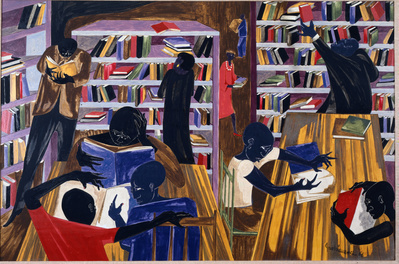 Students with Books, 1966