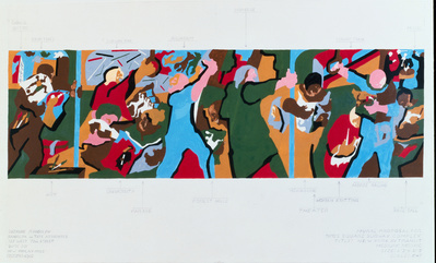 New York in Transit I, 1996