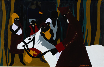 The Life of Toussaint L'Ouverture, #16: Toussaint captured D... By Jacob Lawrence