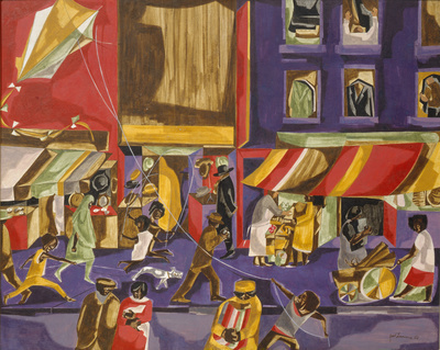 Street Scene (Boy with Kite), 1962