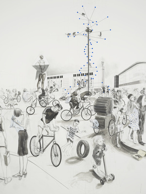 Untitled (Place de la Revolution), 2011