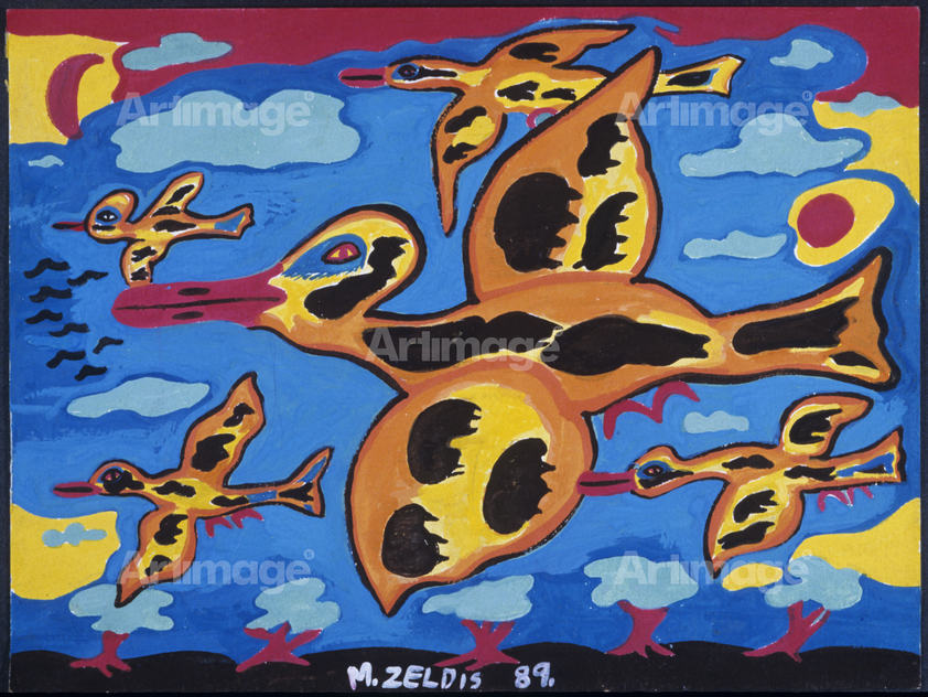 Spotted Geese, 1989