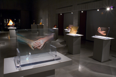 "Installation view, ""Chicago in Glass,"" Canadian Clay and Gla..."