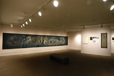Installation view of the Birth Project featuring In the Begi...