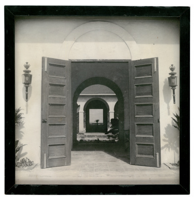 Photograph of house owned by Peter Lacy, Barbados, c. 1950s