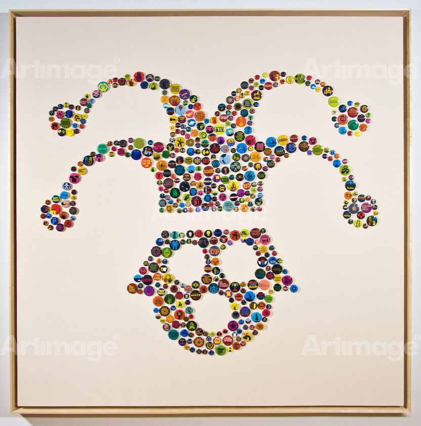 Island Universes (Jester), Button Pieces, 2007