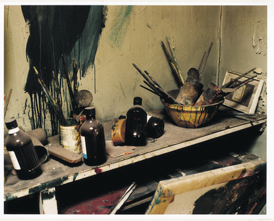 Francis Bacon's 7 Reece Mews studio, London 1998
