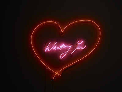 Wanting You, 2014 By Tracey Emin