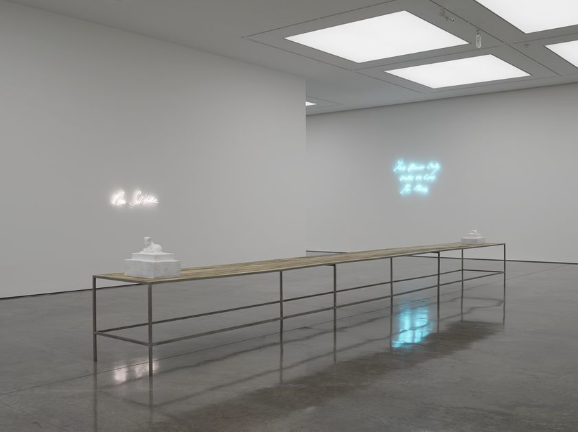 'The Last Great Adventure is You' at White Cube Bermondsey, London. 8 October - 16 November 2014