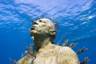 Man on Fire, 2009 By Jason deCaires Taylor
