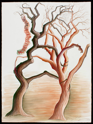 Hopelessly Entwined from Thinking About Trees, 1996
