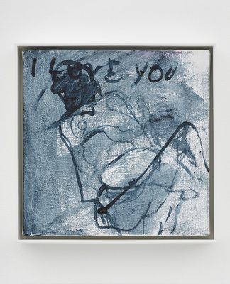 I LOVE YOU, 2014 By Tracey Emin