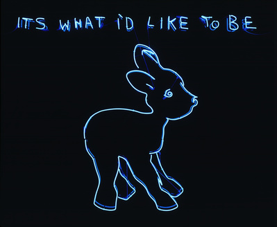 Its what I'd like to be, 1999 By Tracey Emin