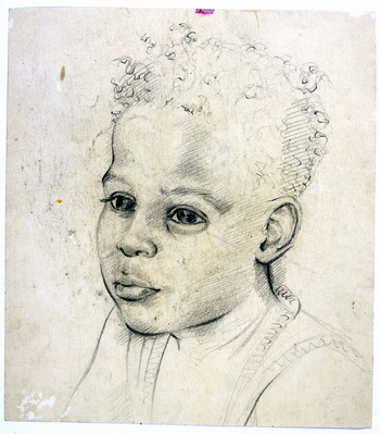 Portrait of my nephew Baghir, c.1950