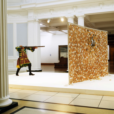 Egg Fight, 2009 (Installation view, Dublin City Gallery The ... By Yinka Shonibare MBE