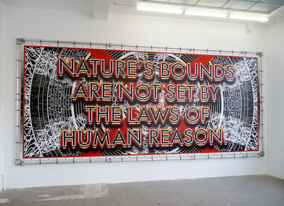 Nature's laws are not set by the laws of human reason, 2009