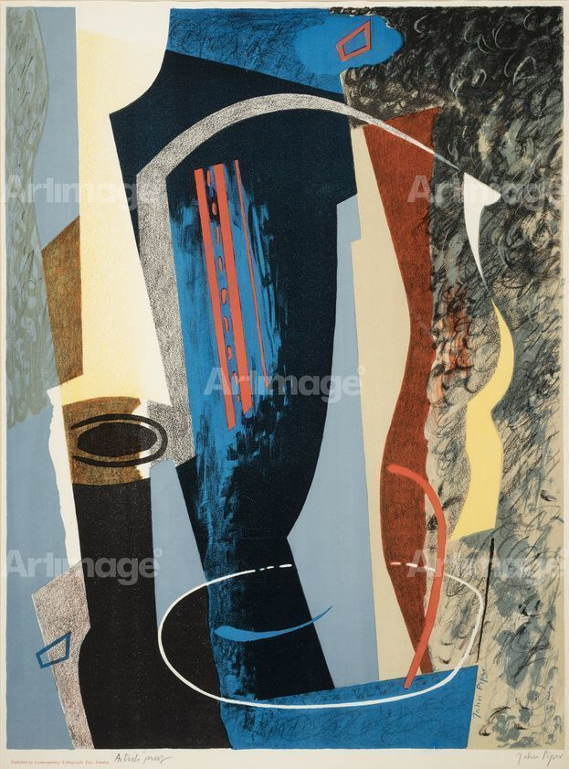 Enlarged version of Abstract Composition, 1936