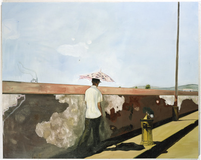 Lapeyrouse Wall, 2004 By Peter Doig