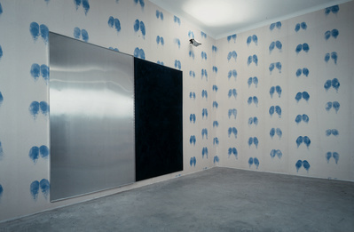 Bottom Wallpaper (Blue Male), Blue Ink Pad, 1992-97