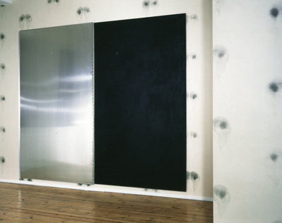 Bottom Wallpaper (Black), Black Ink Pad, 1992-97