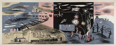Nursery Frieze II, 1936 By John Piper