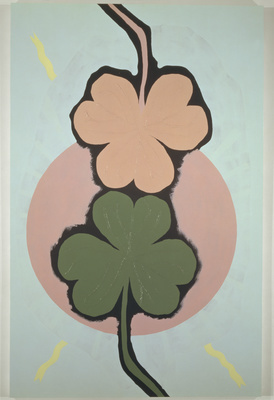 Two Three Leaf Clovers, 1994 By Gary Hume