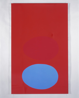 Two Eggs, 1995 By Gary Hume