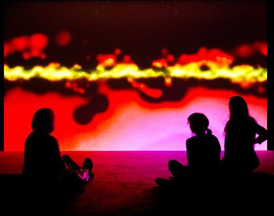 Resounding (Infrared), 2013 (Installation at Hayward Gallery...