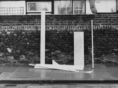 Piece for Wall and Floor, 1966