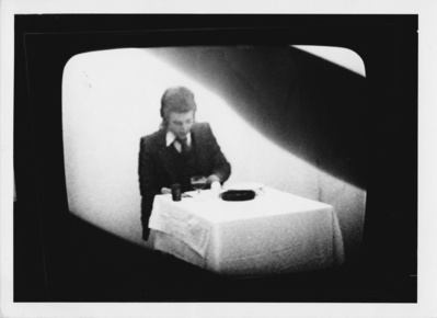 Still from  Waiter Waiter Theres A Sculpture in My Soup, 197...