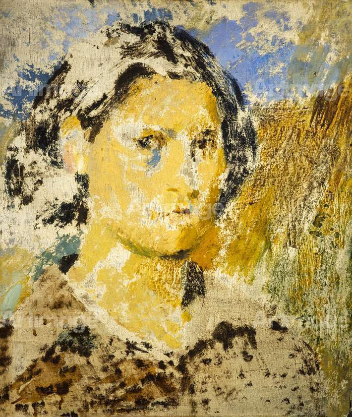 Enlarged version of Joan Eardley, 1943