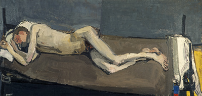 Sleeping Nude, 1955 By Joan Eardley
