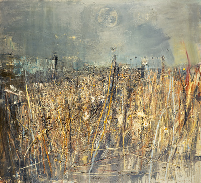 Seeded Grasses and Daisies, September, 1960 By Joan Eardley