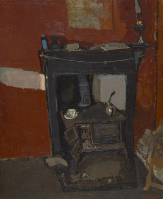 A Stove, c.1955 By Joan Eardley