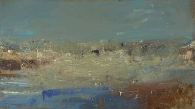 Seascape (Foam and Blue Sky), 1962 By Joan Eardley