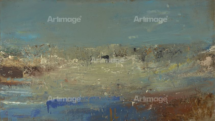 Enlarged version of Seascape (Foam and Blue Sky), 1962