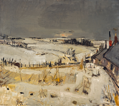 Snow, c. 1958 By Joan Eardley