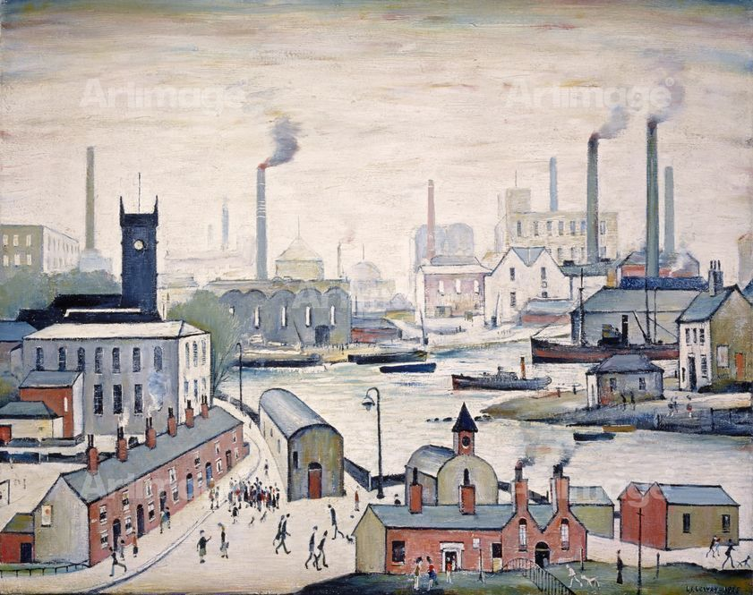 Canal and Factories, 1955